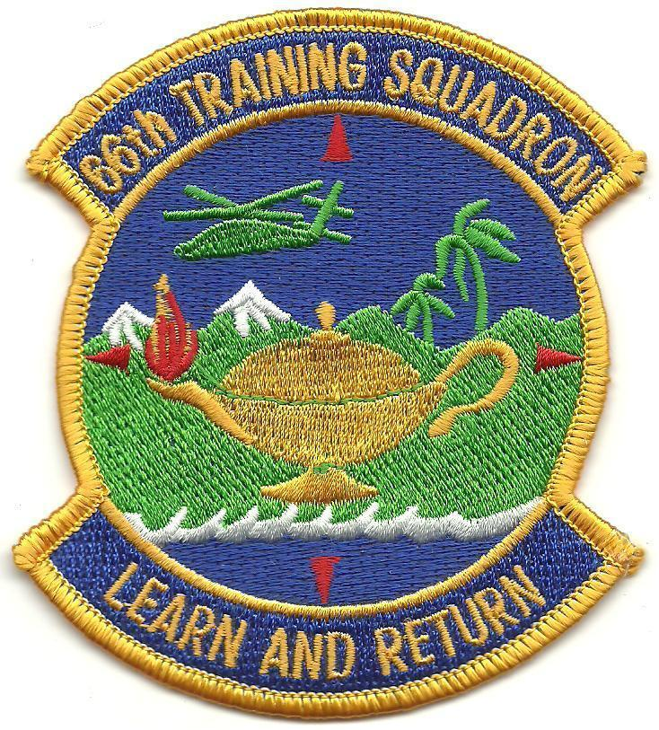 Primary image for USAF 66th Training Squadron 66th TRS Patch