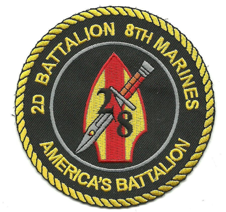 Primary image for USMC 2 nd Battalion 8th Marines Patch