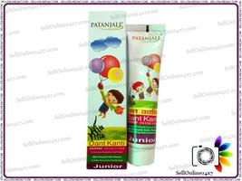 Patanjali Dant Kanti Junior Dental Cream For Strong Teeth - 100gm @ eShops24x7 - $3.46