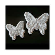 Doubletree Baking DIY fondant cake mold 2pcs butterfly stamp embossed st... - €7,00 EUR