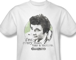 Columbo T-shirt retro 70's 1980's television show TV Land 100% cotton tee NBC505 image 2