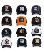 Dragon Ball Z Snapback Cap Cotton Baseball Cap Men Women MAJINBU VEGETA ... - $8.54