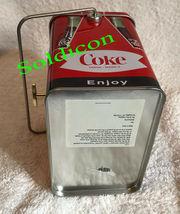 Coke Coca Cola Collection Aluminum Tin Tank Cans Music Box + Quartz desk Clock image 8