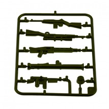 Custom army military guns weapons pack for lego minifigures minifig accessories set a 1 thumb200