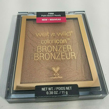 Wet n Wild Color Icon Bronzer Powder Makeup Ticket To Brazil or Palm Beach Ready - $6.99