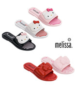 NWT MELISSA Womens Slipper + Hello Kitty Slipper Rubber Sandals Pink Whi... - $85.14+