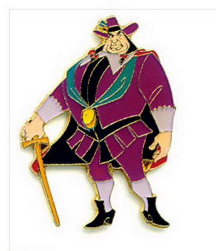 Governor Ratcliffe Standing full body Authentic Disney Pocahontas Pin