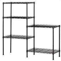 Carbon Steel Storage Rack Black - $59.99