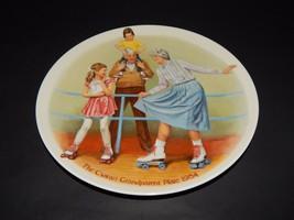 Knowles Bradford Exchange Csatari Grandparent Plate Skating Queen 1984 USA  - $24.74