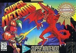 Super Metroid (Super Nintendo Entertainment System, 1994) VERY GOOD - CA... - $50.89