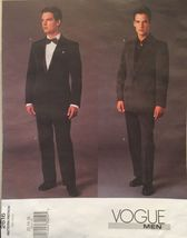 Vogue Men Tuxedo Jacket and Trousers Size 32-36 Pattern 2616 UC/FF - $19.80