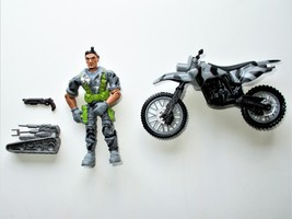 2011 Lanard The Corps Covert Commando Gerrard Rainer Fixer with Motorcycle - $7.99