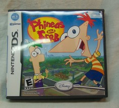 Disney PHINEAS AND FERB NINTENDO DS VIDEO GAME COMPLETE 2009 - $14.85