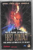 Star Trek: First Contact Movie Soundtrack Music Cassette NEW UNUSED - $3.50