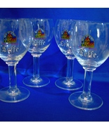 Set of 4 Leffe Belgian Abbey Ale Glasses 25cl  - $15.00