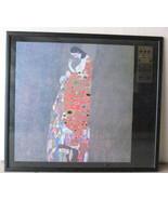 """1986 Gustav Klimt """"Hope II"""" Lithograph offset Color Print on Poster Boar... - $299.99"""