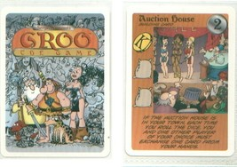 GROO TRADING CARD GAME card AUCTION HOUSE from the expansion set - $7.00