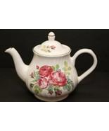 Arthur Wood Made in England Est 1884 Vintage TEAPOT Teapot Roses Tea Coffee Rose - $32.62