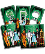 WIZARD OF OZ DOROTHY TOTO COWARDLY LION SCARECROW TIN MAN LIGHT SWITCH O... - $8.09+