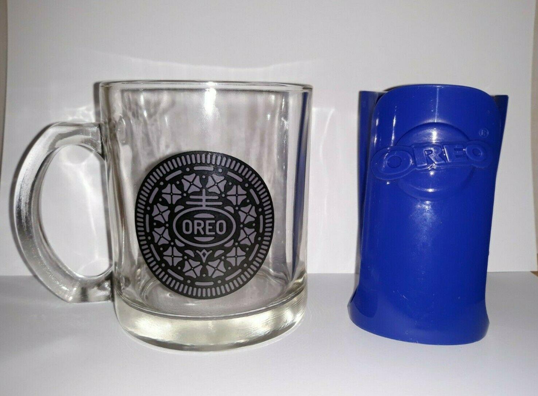 Oreo Logo Clear Glass Coffee Mug Tea Cup And 9 Similar Items