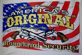 The Second Amendment America's Original Homeland Security Flag 3' X 5' D... - $15.95