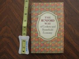 1920s Vintage Recipe Book The Rumford Way Rumford Baking Soda vgc antique - $10.00