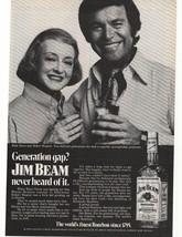 1972 Jim Beam Kentucky Bourbon Whisky Advertisement - $16.00