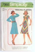 Simplicity 7966, Misses Dress, Size 10, 12 - $4.95