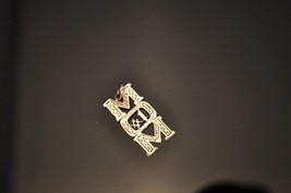 "Sterling Silver #1 Mom Charm 1"" tall 1/2"" Wide - €6,76 EUR"
