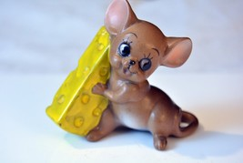 Josef Originals Mouse With big Cheese Figurine – Excellent - $12.50
