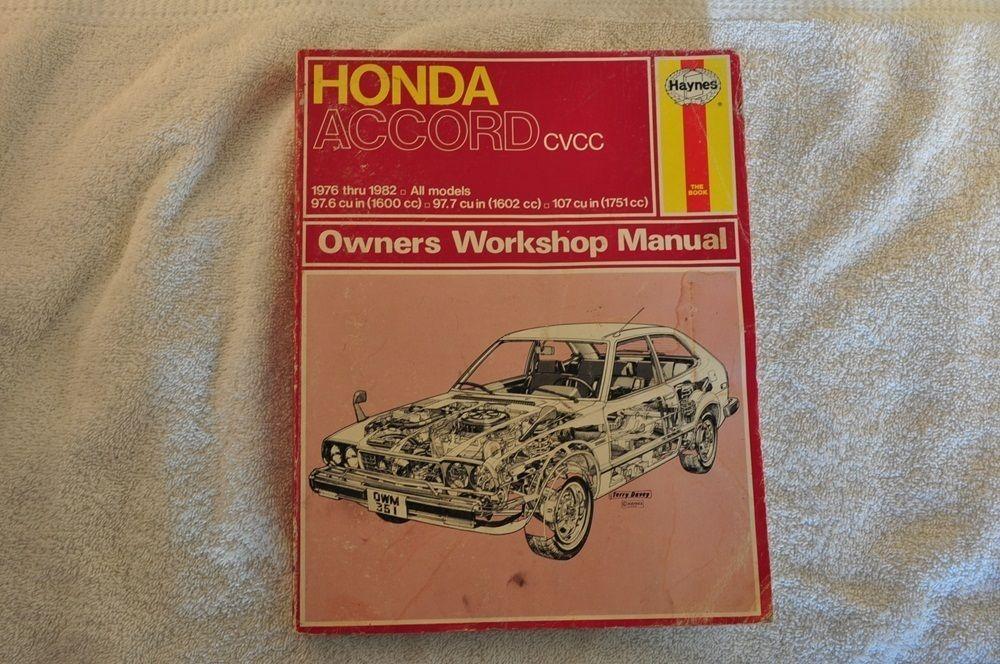 haynes honda accord cvcc owners worship and 24 similar items rh bonanza com 2007 Honda Accord 2000 Honda Accord