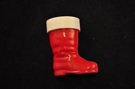 Rosbro Plastics Santa Boot Candy Container - $4.04