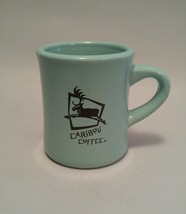 "HEAVY Caribou Coffee Mug ""Life is short. Stay a... - $12.86"