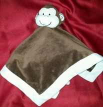 """13"""" Safari Collections Brown Monkey Lovey Secur... - $15.87"""