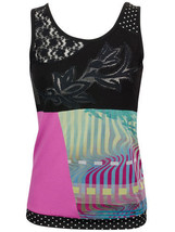 Les Fees Du Vent Couture: Midnight Orchid Top - $98.00