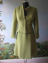 Liz Claiborne 2 Pieces Green Dress & Jacket  Size 6 - $43.56