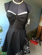 Rampage Womens Black Halter Evening Dress Size 11 NWT - $39.59