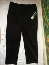 Jones New York Stretch Womens Black Dress Pants SZ 10 NWT MSRP $69 - $39.59