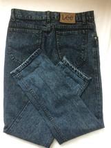 Lee Genuine Jeans Men's Lee Dark Wash Blue Denim Jeans W33 L32 - $29.65
