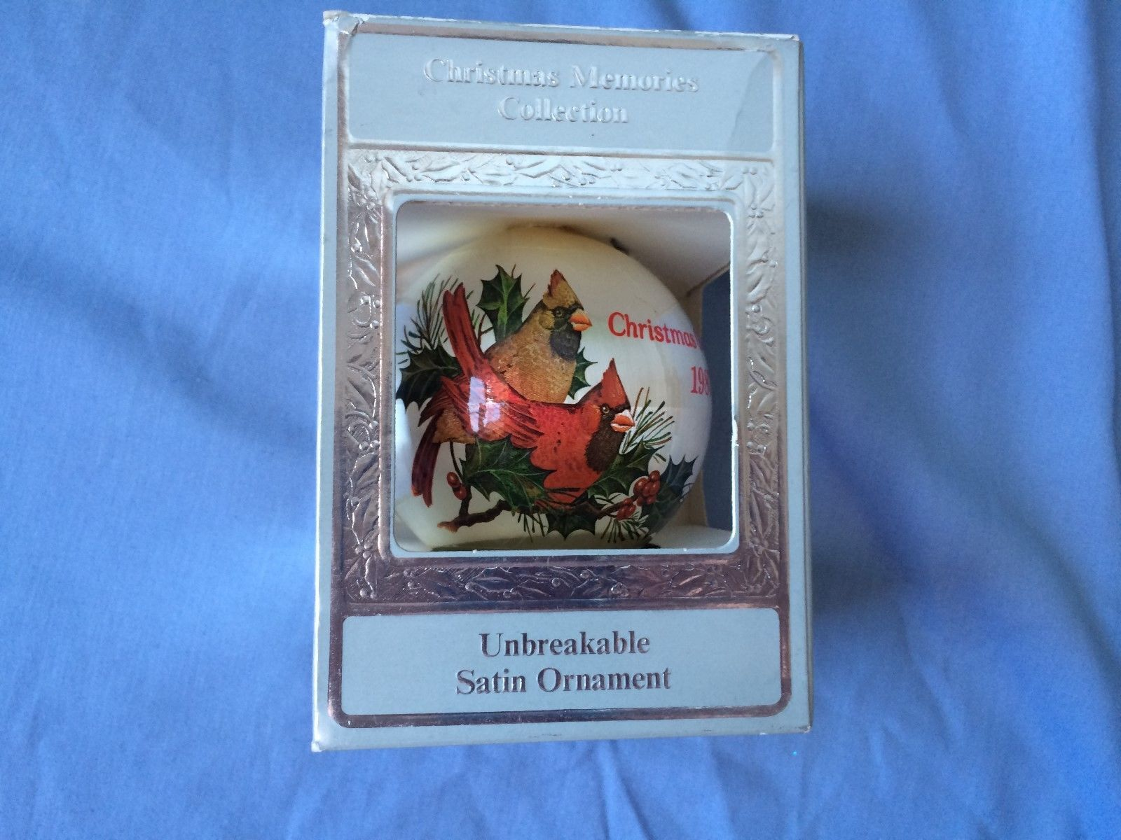 "Primary image for VTG CHRISTMAS Memories Collection Ornament ""Christmas Greetings 1987"""