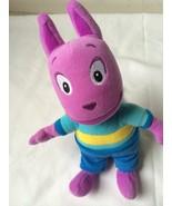 "Ty Beanie Bean Bag Austin Backyardigns  9"" Plush Stuffed Animal Lovey Toy - $18.80"