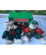 "House of Lloyd Christmas Around the World ""Hip & Hop"" Bunny Rabbit Shelf... - $28.71"
