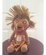 """Disney Lion King Broadway Musical SIMBA Bean Bag Plush 11"""" African Tribal - $19.79"""