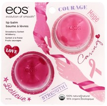 eos Lip Balm Benefits Breast Cancer Limited 201... - $11.32
