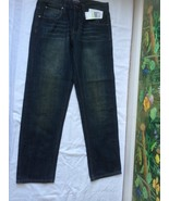 Michael Kors Men's Dark Wash Blue Jeans Regular Straight W 30 X L 30 NWT - $59.39