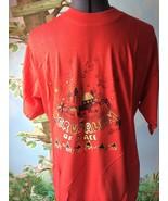 Jesusalem of Peace Red/Gold Cotton T-shirt SZ XXL NWT - $29.69