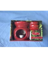 Holly Berry Seasonal Scents Red Warmer with 3 Wax Disks New in Box - $19.75