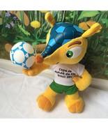 """Copa Do Mundo Da FIFA Brazil World Cup Soccer 2014  Plush 12"""" - $14.84"""