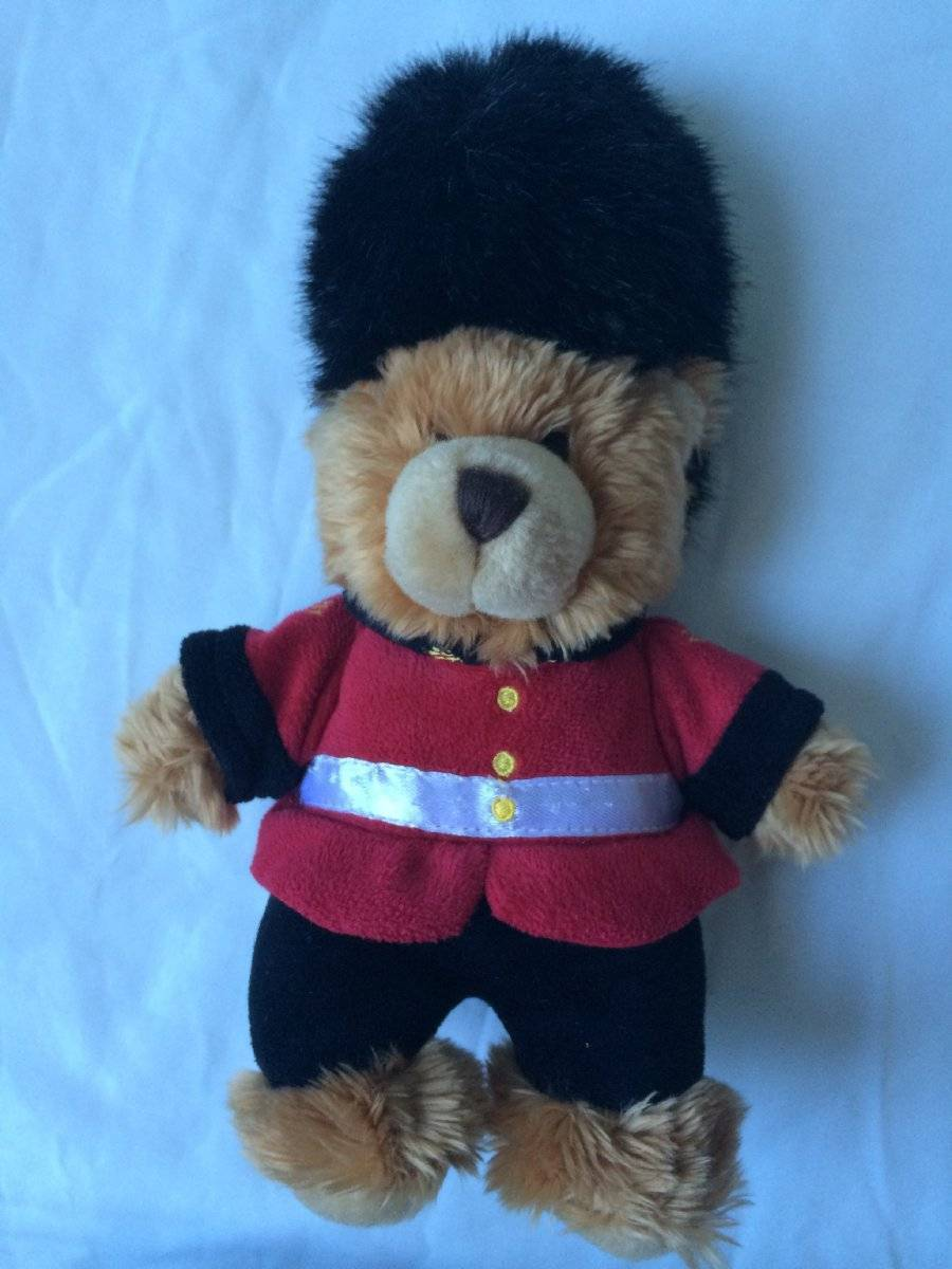 "Primary image for Keel Toys Plush Red Royal Guardsman Teddy Bear 11"" Plush Toy Collectible"