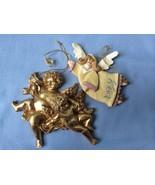 Kurt S. Adler Inc Lot of 2 Angels Chirstmas  Ornaments - $19.75